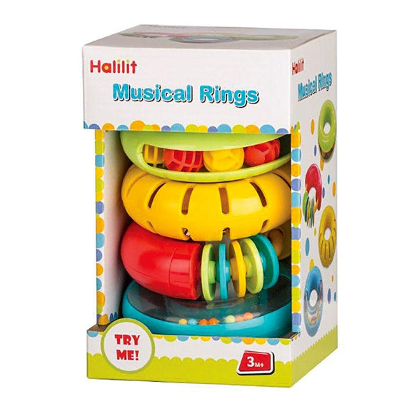 HALILIT MUSICAL RINGS SET