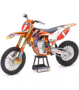 D/C 1:6 RACING DIRT BIKE AST