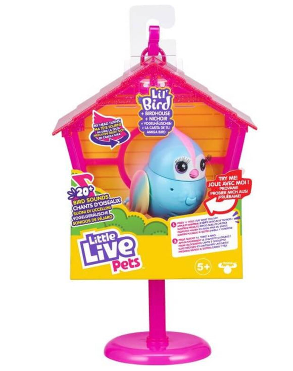 LITTLE LIVE PETS BIRD S10 BIRD & HOUSE