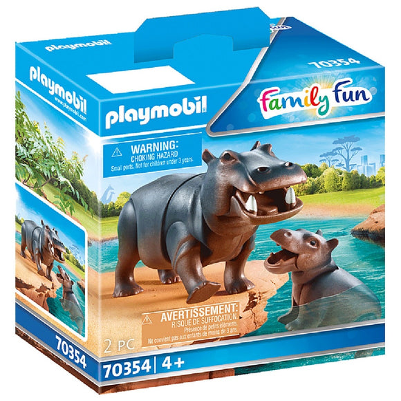 PLAYMOBIL 70354 HIPPO WITH CALF