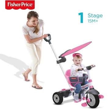 SMART TRIKE FISHERPRICE CHARM PLUS PINK