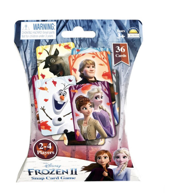 CARD GAME SNAP FROZEN 2
