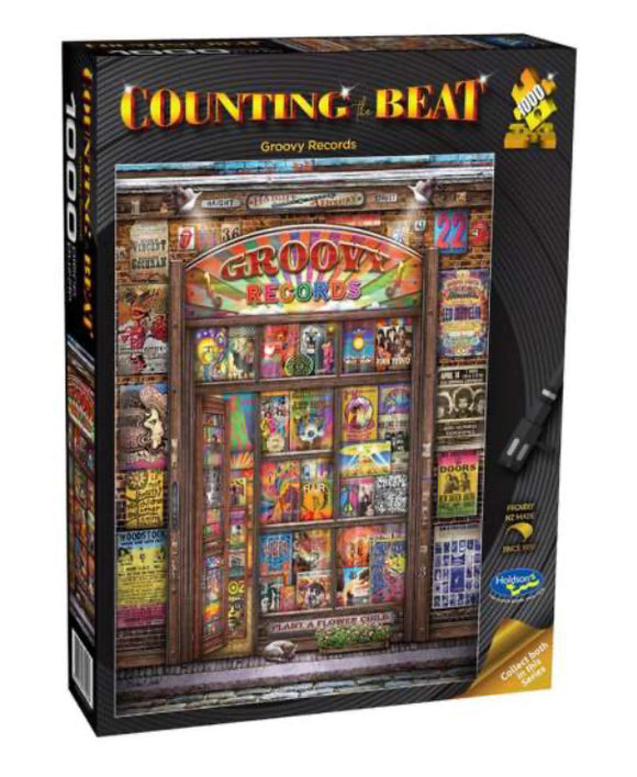 PUZZLE 1000PC COUNTING THE BEAT GROOVY