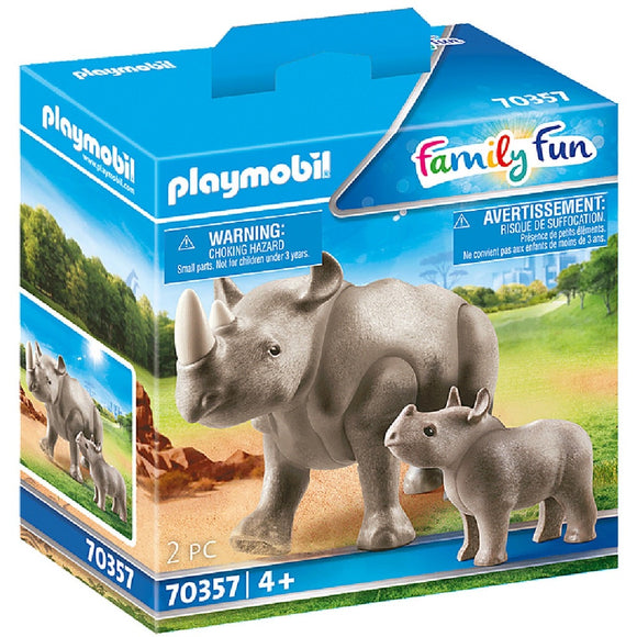 PLAYMOBIL 70357 RHINO WITH CALF