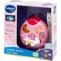 VTECH LULLABY SHEEP COT LIGHT PINK
