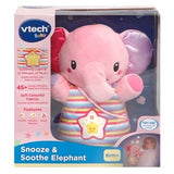 VTECH SNOOZE & SOOTHE ELEPHANT PINK