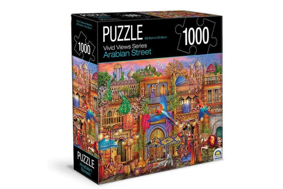 PUZZLE 1000PC VIVID VIEW ARABIAN STREET