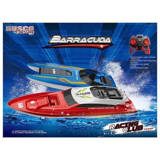 RUSCO R/C BARRACUDA FAST BOATS AST