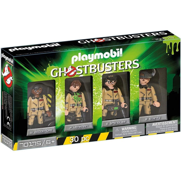 PLAYMOBIL 70175 GHOSTBUSTER FIGURE SET
