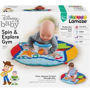 LAMAZE SPIN & EXPLORE TOY STORY GYM