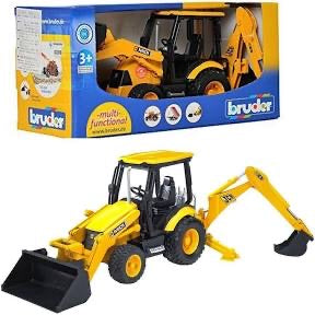 BRUDER 1:16 JCB MIDI BACKHOE LOADER