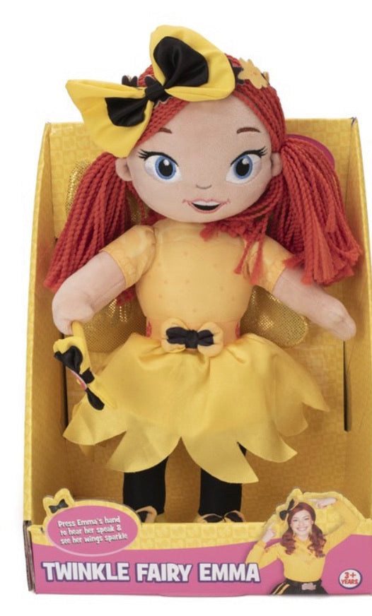 THE WIGGLES TWINKLE FAIRY EMMA DOLL