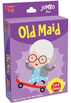 CARD GAME OLD MAID
