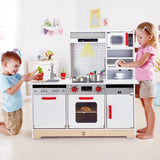 HAPE ALL IN 1 KITCHEN 15 PCE SET WOODEN