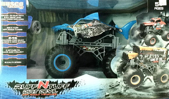 R/C RUSCO ROUGH N TOUGH SHARK CARS