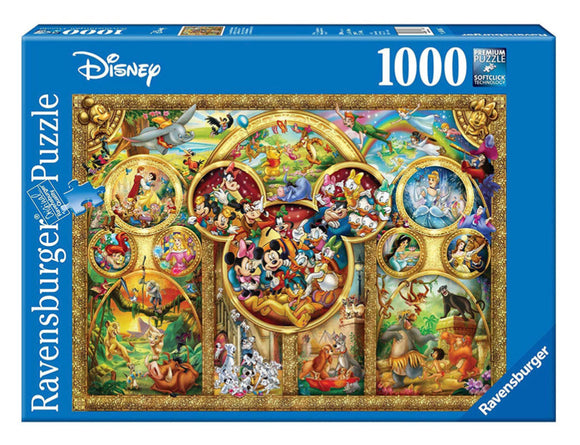 PUZZLE 1000PC DISNEY BEST THEMES