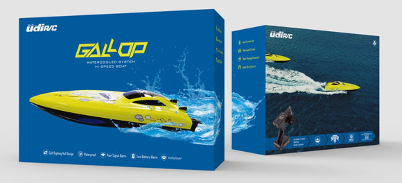 R/C UDIRC HIGH SPEED RACING BOAT GALLOP