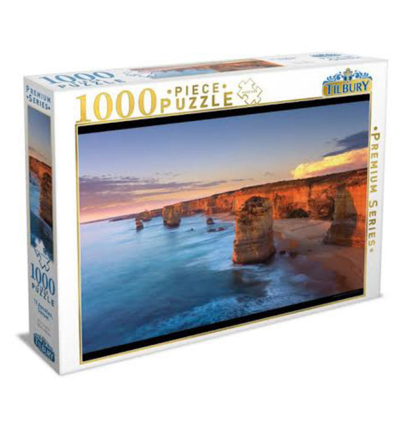 PUZZLE 1000PC 12 APOSTLES SUNSET