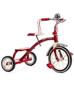 TRIKE RADIOFLYER DUAL DECK RED