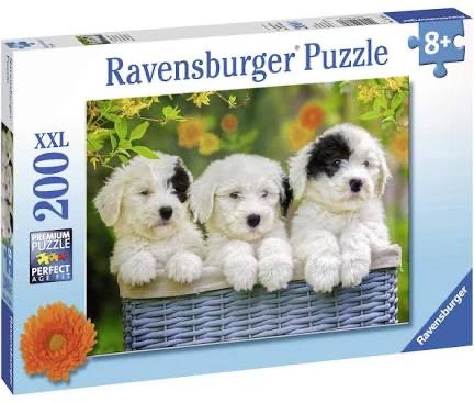 PUZZLE 200PC CUDDLY PUPPIES