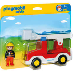 PLAYMOBIL 6967 123 LADDER UNIT FIRE TRUC
