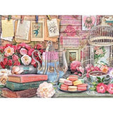 PUZZLE 500PC VINTAGE TEA PARTY