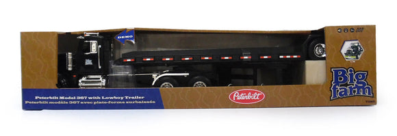 BIG FARM 1:16 PETERBILT 367 W LOWBOY TRA