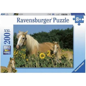 PUZZLE 200PC HORSE HAPPINESS