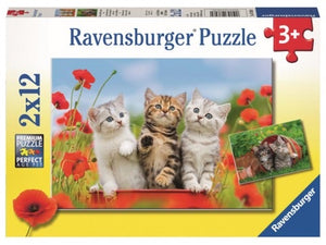 PUZZLE 2X12PC KITTEN ADVENTURES