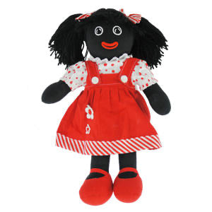 RAG DOLL YD103 GEORGINA RED GIRL GOLLIE