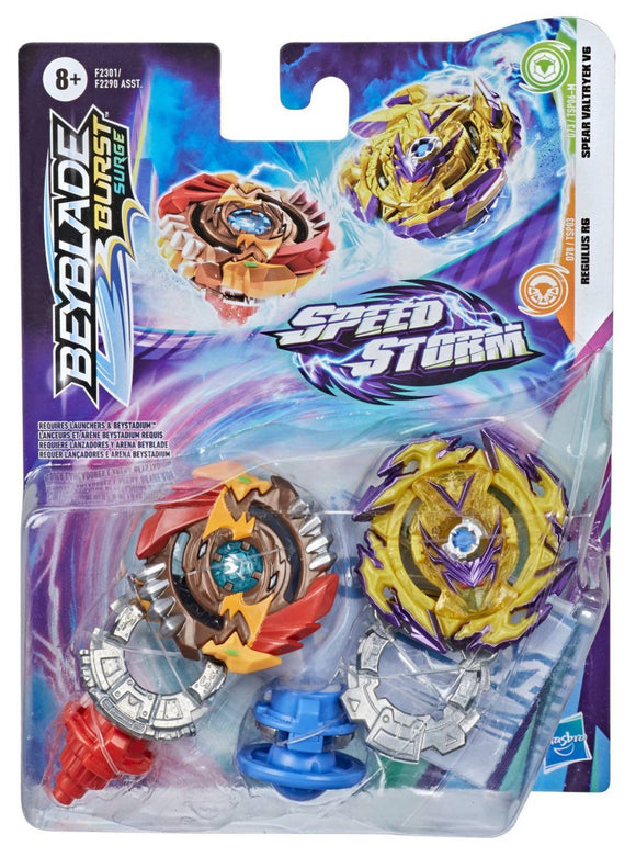 BEYBLADE SPEED STORM DUAL PACK AST