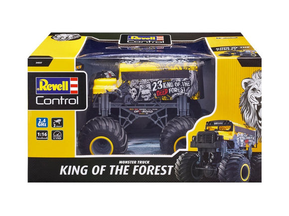 R/C REVELL MONSTER TRUCK KING OF FOREST