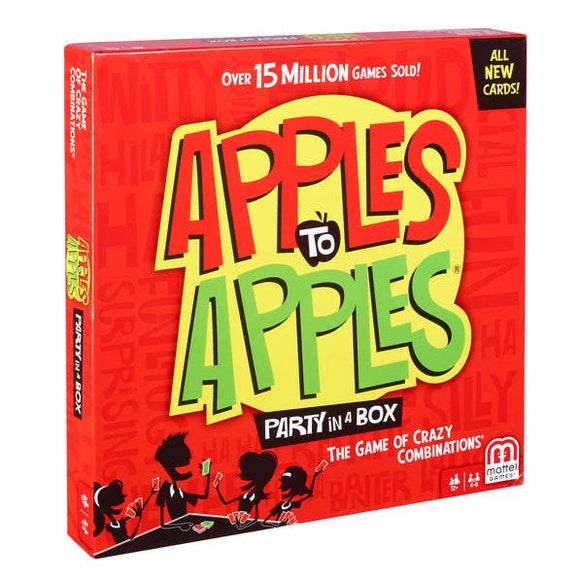 GAME APPLES TO APPLES PARTY IN A BOX
