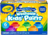 CRAYOLA PAINT PACK KIDS 6PK 541204
