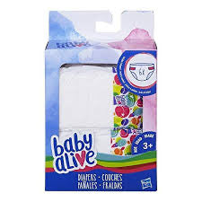 BA BABY ALIVE DIAPERS