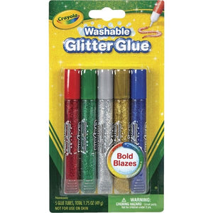 CRAYOLA GLUE GLITTER WASHABLE