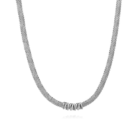 Collier en argent Volubile