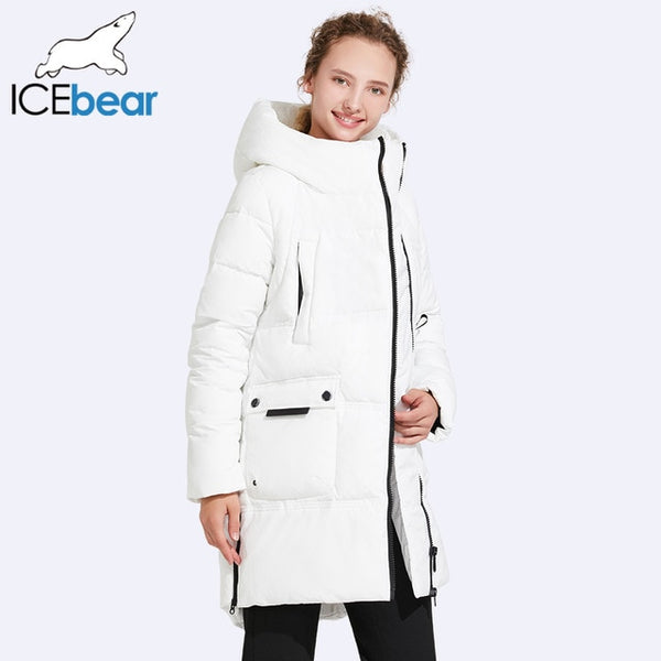 Winter Cotton Thick Windproof Coat