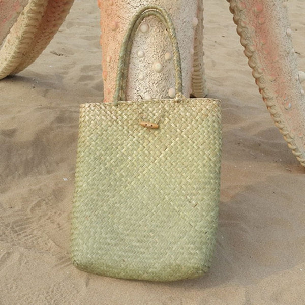 Summer Beach Straw Bag 2 Colors