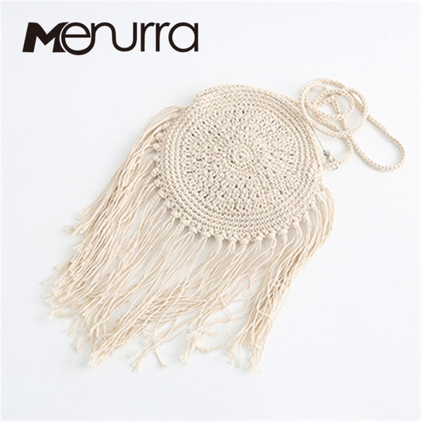 Women Woven Straw Bags Round Weave Crossbody Small Travel Handbag Mini Brand Handbag Burla Pouches Beach Bags