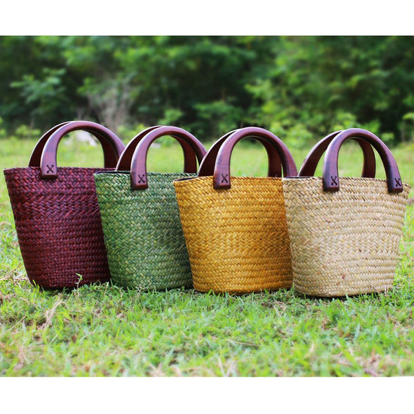 Handmade Mini Straw Bag