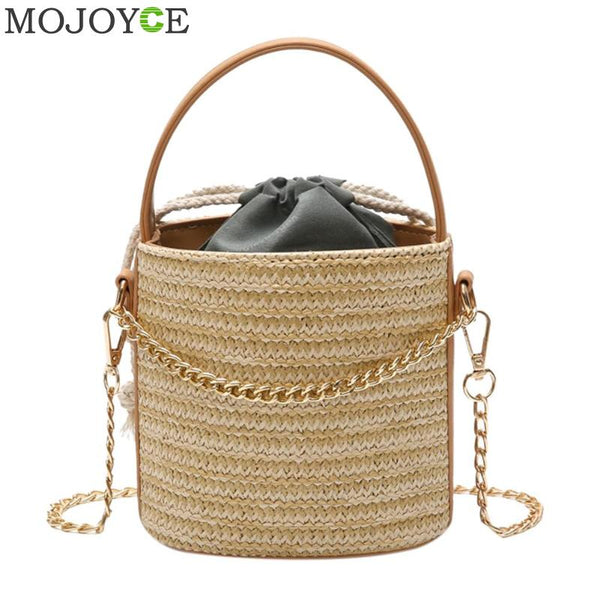 BB   Japan Style Weaved Designer Beach Bag