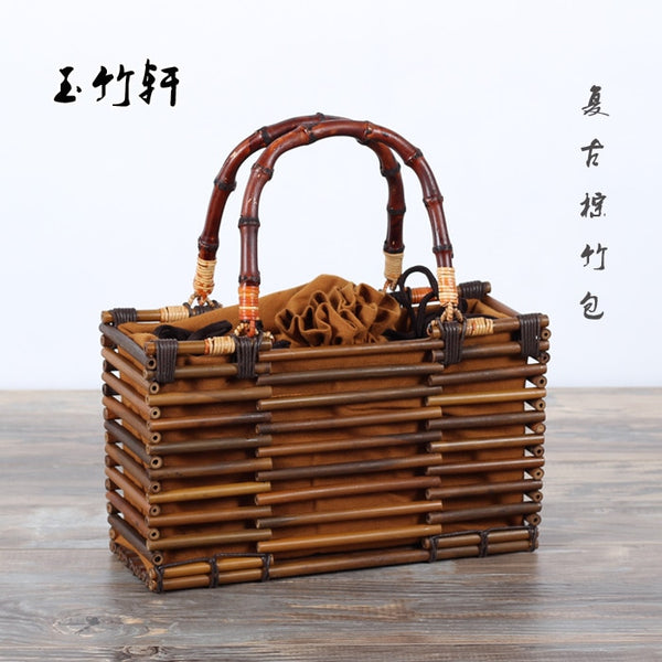 BB   Japanese Bamboo Handmade Bag