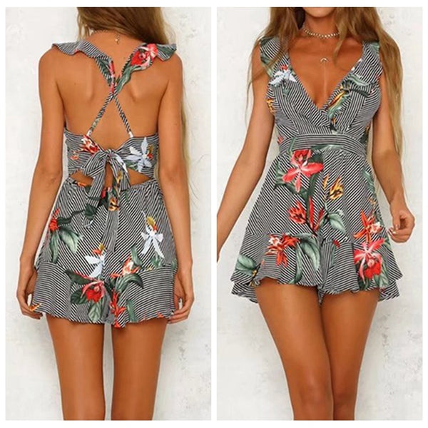 Beach Casual Jumpsuit