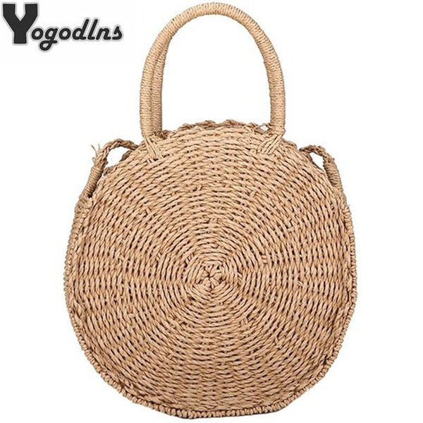 Handmade Straw Rattan  Bag