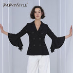 Ruffles Fashion Blazer