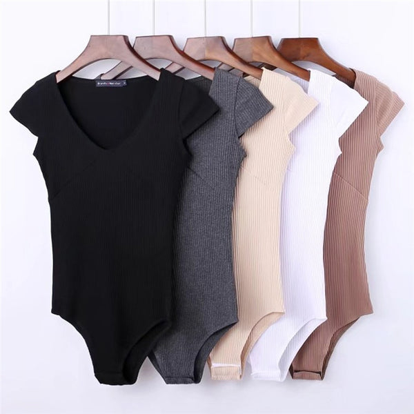 Skinny Bodysuits High Stretch
