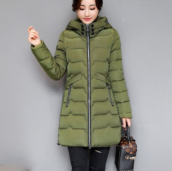 Winter Cotton Thick Warm Coat