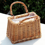 VA Straw Summer Bag
