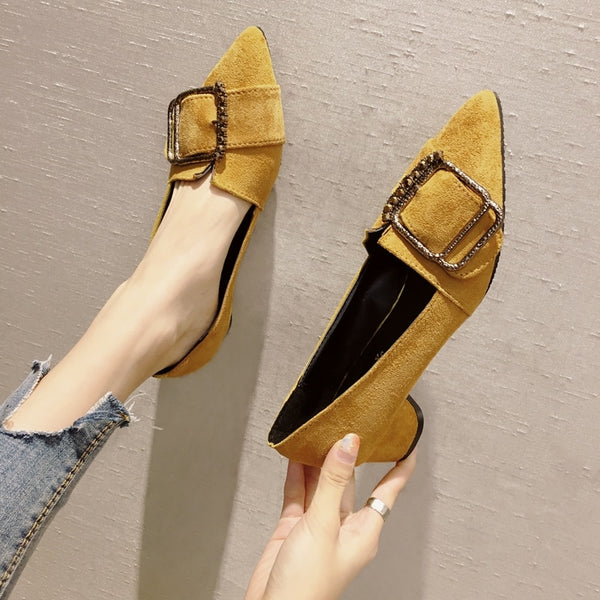 VA Spring Low Square Shoes